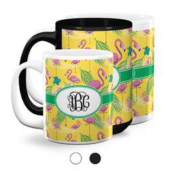 Pink Flamingo Coffee Mugs (Personalized)