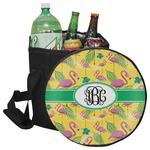 Pink Flamingo Collapsible Cooler & Seat (Personalized)