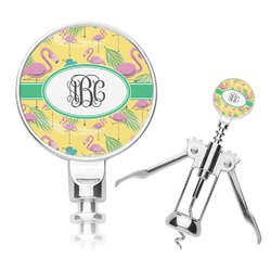 Pink Flamingo Corkscrew (Personalized)