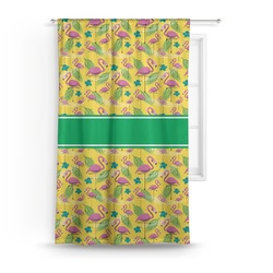 Pink Flamingo Curtain (Personalized)