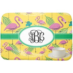Pink Flamingo Dish Drying Mat (Personalized)
