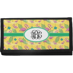 Pink Flamingo Checkbook Cover (Personalized)
