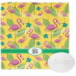 Pink Flamingo Wash Cloth (Personalized)