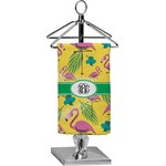 Pink Flamingo Finger Tip Towel - Full Print (Personalized)