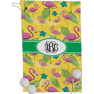 Pink Flamingo Golf Towel