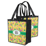 Pink Flamingo Grocery Bag (Personalized)