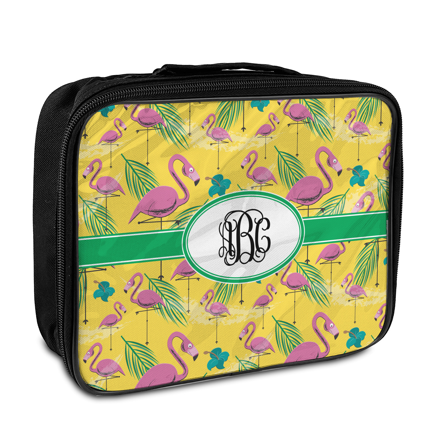 ecba78db645c Pink Flamingo Insulated Lunch Bag (Personalized)