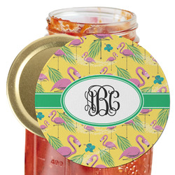 Pink Flamingo Jar Opener (Personalized)