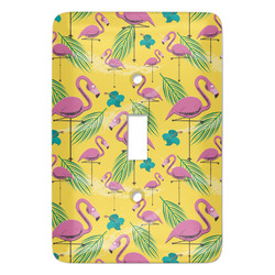 Pink Flamingo Light Switch Covers - Multiple Toggle Options Available (Personalized)