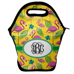 Pink Flamingo Lunch Bag w/ Monogram