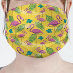 Pink Flamingo Face Mask Cover (Personalized)