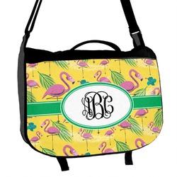 Pink Flamingo Messenger Bag (Personalized)