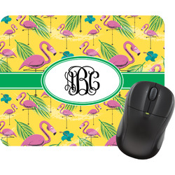 Pink Flamingo Mouse Pad (Personalized)