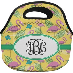 Pink Flamingo Lunch Bag (Personalized)