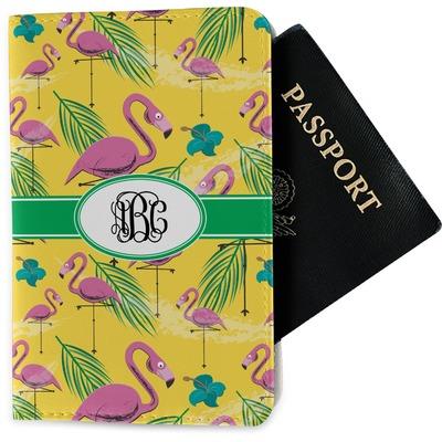 Pink Flamingo Passport Holder - Fabric (Personalized)