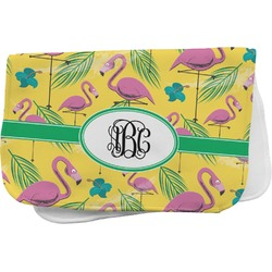 Pink Flamingo Burp Cloth (Personalized)