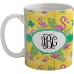 Pink Flamingo Coffee Mug (Personalized)