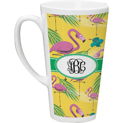 Pink Flamingo Latte Mug (Personalized)