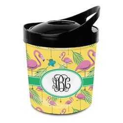 Pink Flamingo Plastic Ice Bucket (Personalized)