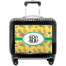 Pink Flamingo Pilot / Flight Suitcase (Personalized)