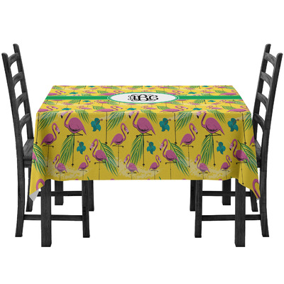 Pink Flamingo Tablecloth (Personalized)