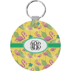 Pink Flamingo Keychains - FRP (Personalized)