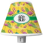 Pink Flamingo Shade Night Light (Personalized)
