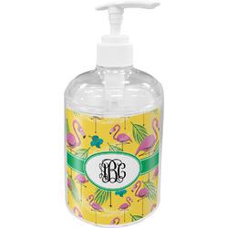 Pink Flamingo Acrylic Soap & Lotion Bottle (Personalized)