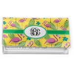 Pink Flamingo Vinyl Checkbook Cover (Personalized)
