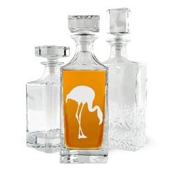 Pink Flamingo Whiskey Decanter (Personalized)