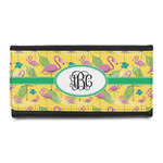 Pink Flamingo Leatherette Ladies Wallet (Personalized)