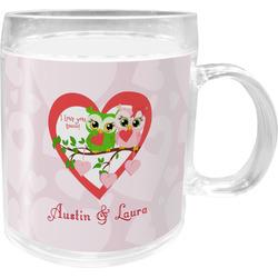 Valentine Owls Acrylic Kids Mug (Personalized)