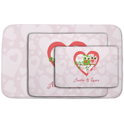 Valentine Owls Area Rug (Personalized)