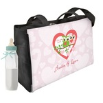 Valentine Owls Diaper Bag (Personalized)