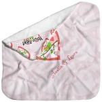 Valentine Owls Baby Hooded Towel (Personalized)