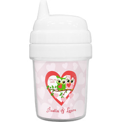 Valentine Owls Baby Sippy Cup (Personalized)