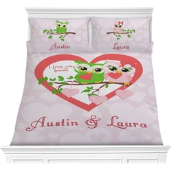 Valentine Owls Comforters (Personalized)