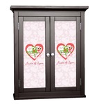 Valentine Owls Cabinet Decal - Custom Size (Personalized)