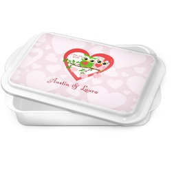 Valentine Owls Cake Pan (Personalized)