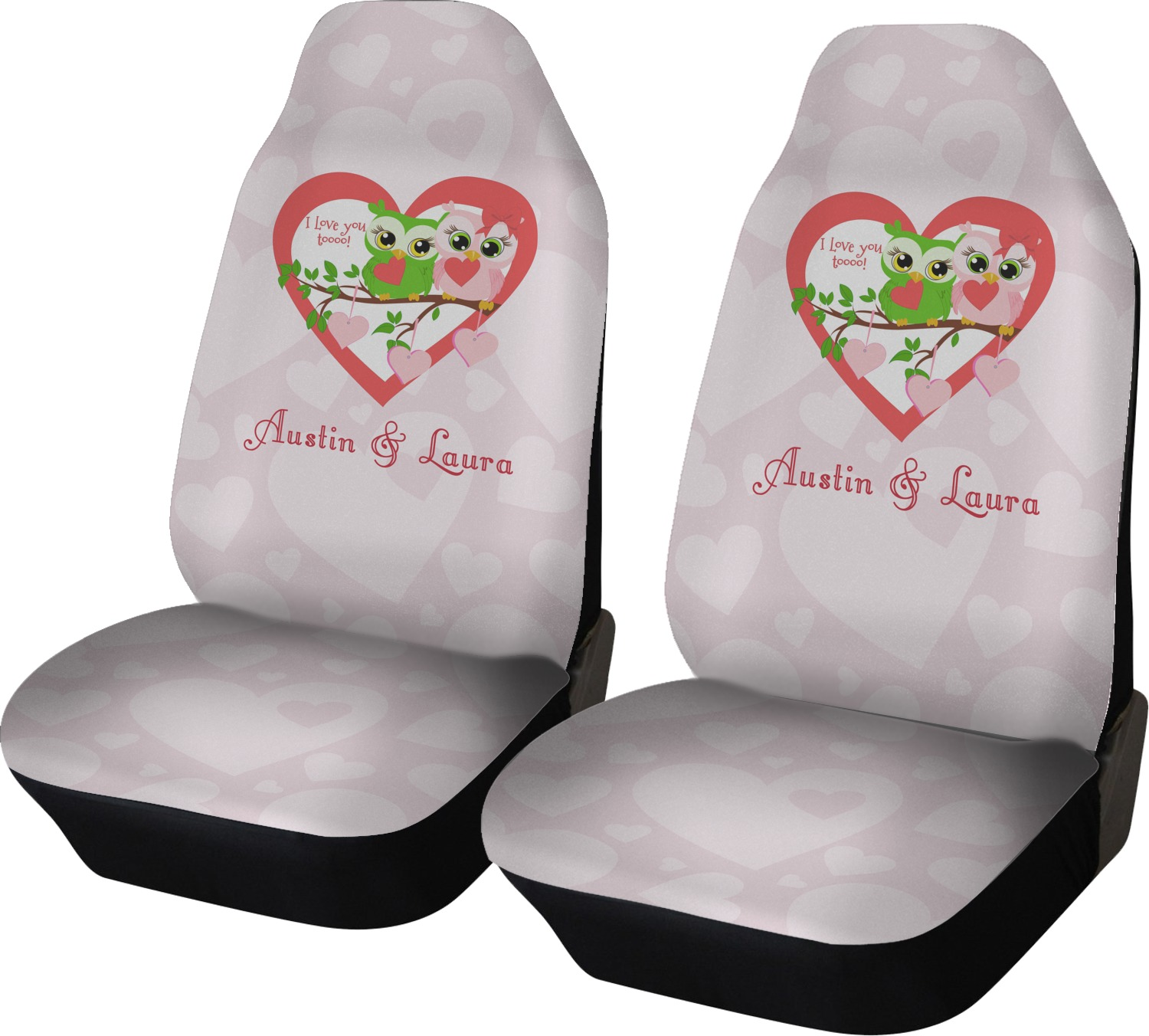 Owl Car Seat Covers Velcromag