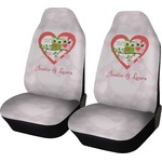 Valentine Owls Car Seat Covers (Set of Two) (Personalized)