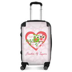 Valentine Owls Suitcase (Personalized)