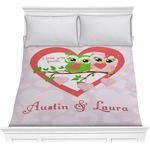Valentine Owls Comforter (Personalized)