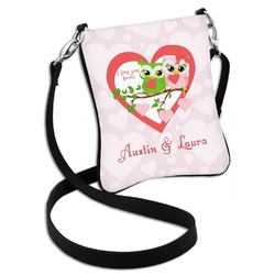 Valentine Owls Cross Body Bag - 2 Sizes (Personalized)