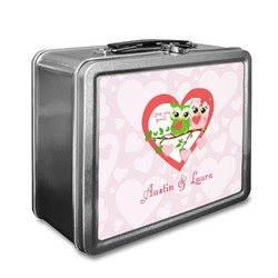 Valentine Owls Lunch Box (Personalized)