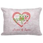 Valentine Owls Decorative Baby Pillowcase - 16