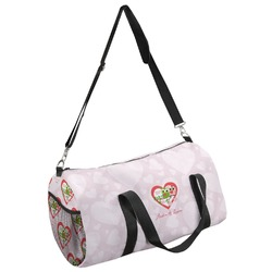 Valentine Owls Duffel Bag - Multiple Sizes (Personalized)