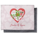 Valentine Owls Microfiber Screen Cleaner (Personalized)