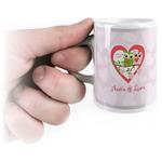 Valentine Owls Espresso Cups (Personalized)