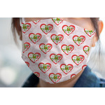 Valentine Owls Face Mask Cover (Personalized)